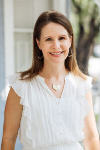 A photo of Whitney Owens is captured. She is a private practice consultant and group practice owner. She offers consultation for private practices and group practices. Whitney is featured on Practice of the Practice, a therapist podcast.