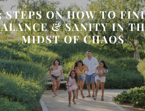 5 Steps on How to Find Balance & Sanity In The Midst Of Chaos | EU 27