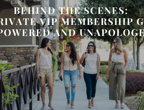 Behind the Scenes: My Private VIP Membership Group Empowered and Unapologetic | EU 33