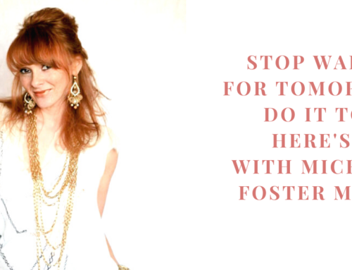 Stop Waiting for Tomorrow, Do it today! Here's How with Michaela Foster Marsh | EU 39