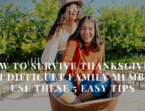 How to Survive Thanksgiving with Difficult Family Members: Use these 5 Easy Tips | EU 40